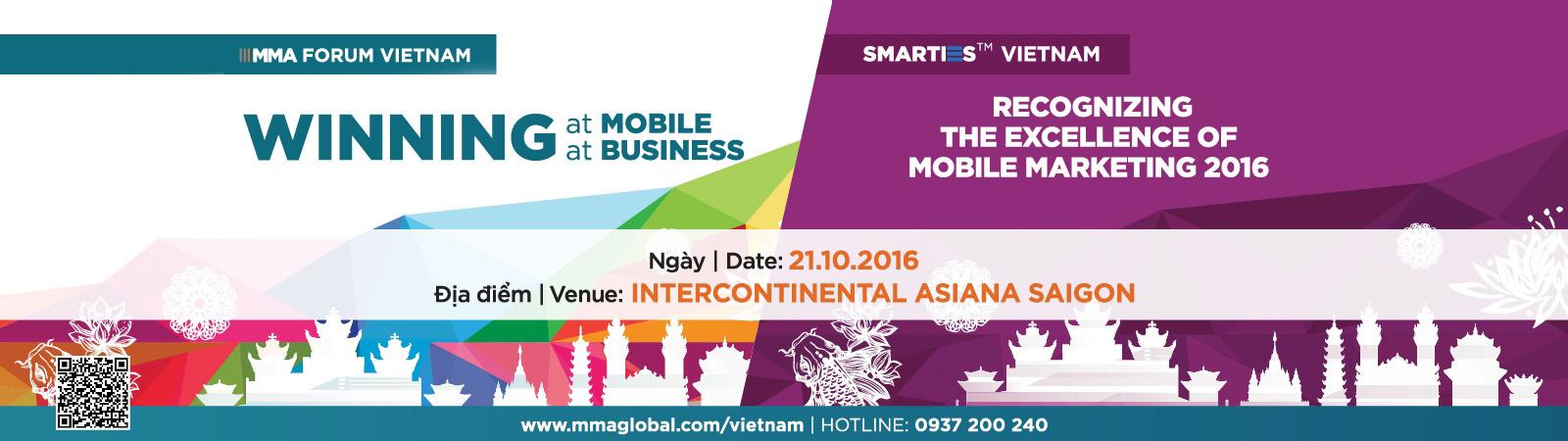 MMA Forum & Giải Thưởng Smarties Việt Nam 2016