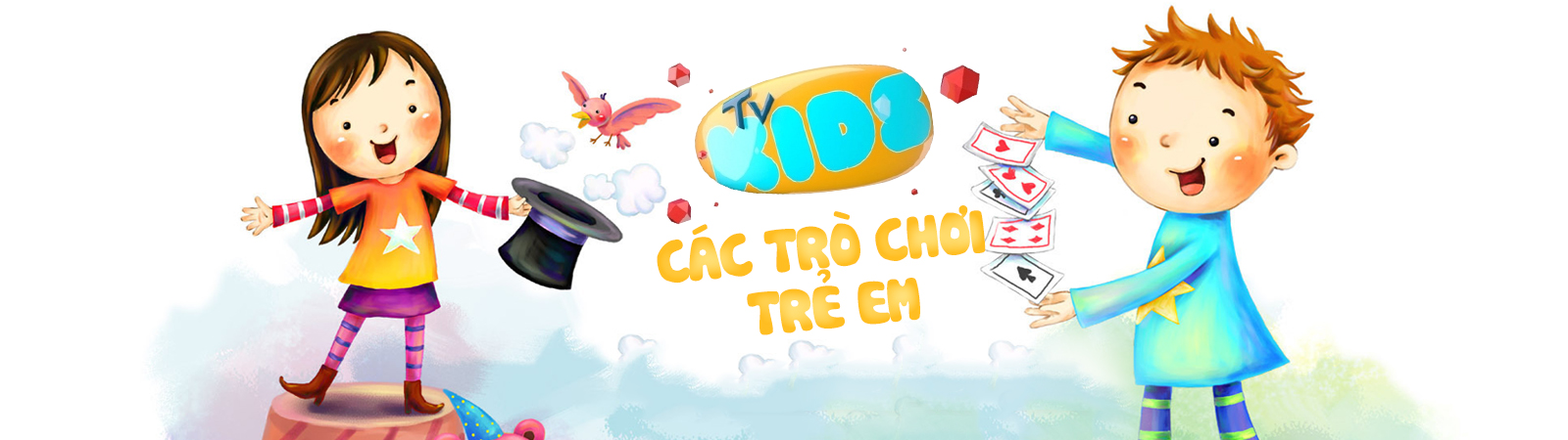 Kids TV - Các Trò Chơi Trẻ Em