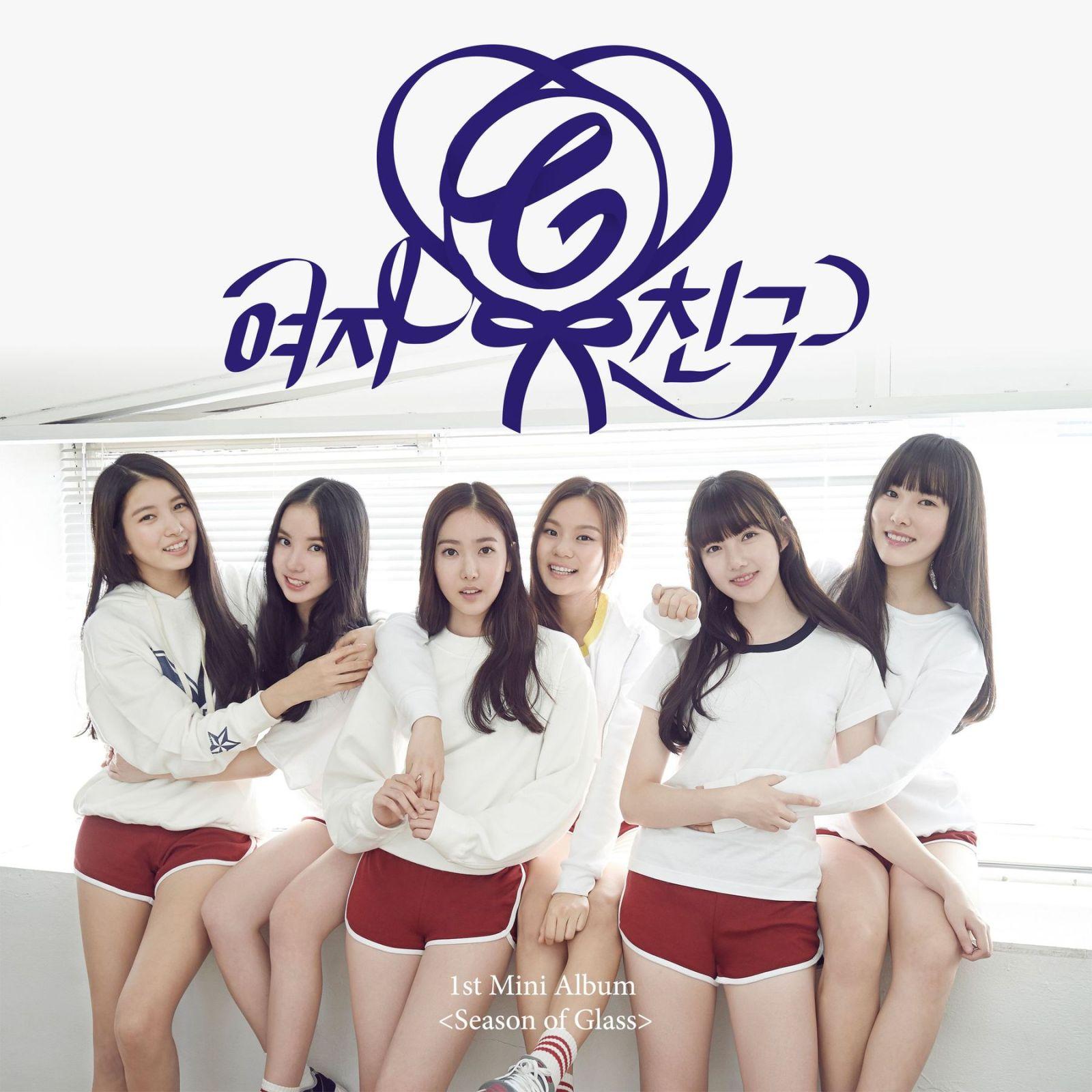 Season of glass 1st mini album gfriend album