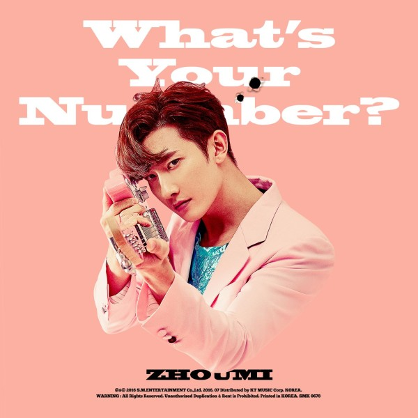 What's Your Number? (The 2nd Mini Album) - ZHOUMI