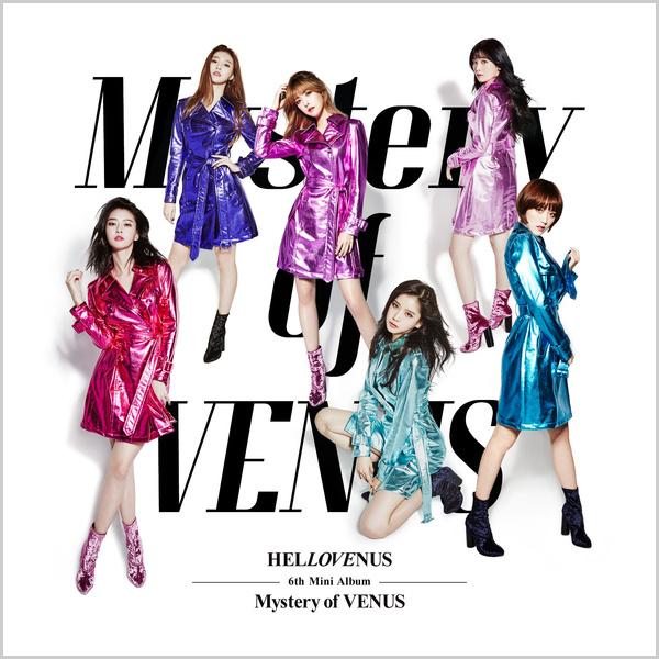 HELLOVENUS 6th Mini Album Mystery Of VENUS - HELLOVENUS
