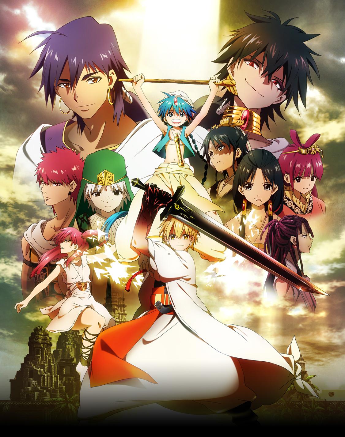 [Phim Anime 3GP] Magi the Labyrinth of Magic-Anime Hành động,phiêu lưu cực hay-Link tải trực tiếp cho mọi loại điện thoại