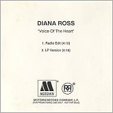 Voice Of The Heart (Promo CDS) -  Diana Ross