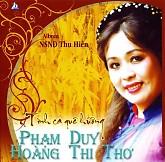 Album Tình Ca Quê Hương