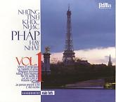 Album Những Tình Khúc Nhạc Pháp Hay Nhất Vol.1