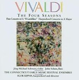 Album Vivaldi: The Four Seasons;Flute Concerto;Harpsichord Concerto No.1
