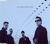Beautiful Day (CD Single Blue - Australian) - U2