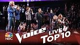 Bless The Broken Road/Stand (The Voice 2014 Top 10)-Chris Jamison  ft.  Damien  ft.  Matt McAndrew  ft.  Taylor John Williams  ft.  DaNica Shirey  ft.  Reagan James  ft.  Craig Wayne Boyd  ft.  Ryan Sill  ft.  7 Flowers