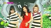 RED (140726 Music Core) - Hyuna