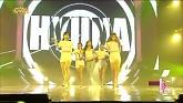RED (140809 Music Core) - Hyuna