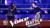 Halo (The Voice 2014 Battle Round)-Toia Jones  ft.  DaNica Shirey