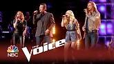 Sad Songs (Live At The Voice 2014)-Blake Shelton  ft.  Craig Wayne Boyd  ft.  Jessie Pitts  ft.  Reagan James