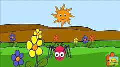 Video Incy Wincy Spider (Nursery Rhyme) - KidsCamp