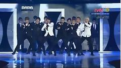 Superman, Mr. Simple & Sorry Sorry (111129 Mnet Asian Music Awards) - Super Junior