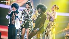 That's The Way (I Like It) / Get Down Tonight (The Voice UK 2015: The Live Semi-Final) - Will.i.am  ft.  Sheena McHugh  ft.  Vikesh Champaneri