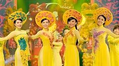 Quê Hương Mùa Xuân (Gala Nhạc Việt 3) - Thu Thủy  ft.  Minh Thư  ft.  Bảo Thy  ft.  Tiêu Châu Như Quỳnh
