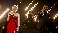 My Heart Is Open (Live At Grammy 57th) - Adam Levine  ft.  Gwen Stefani
