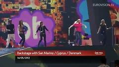 Cyprus, Denmark & San Marino Backstage At Eurovision 2012 - Various Artists