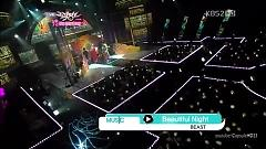 Beautiful Night (120727 Music Bank) - BEAST