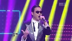 Gangnam Style (120729 Inkigayo) - PSY,KARA,SISTAR,After School