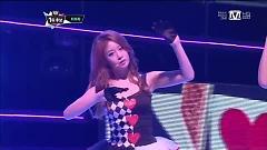 Video Sexy Love (120913 M! Countdown) - T-ARA