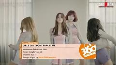 Don't Forget Me (Vietsub) - Girl's Day