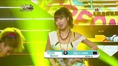 Video Ice Cream (121123 Music Bank) - Hyuna