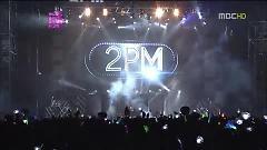 Video Hands Up (121202 MBC Korean Music Wave In Kobe) - - 2PM