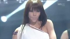 Tears Pouring Down (121209 Inkigayo) - Son Dam Bi