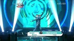 Video Humanoids (121221 Music Bank Year End Special) - DBSK