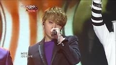 Caffeine, Beautiful Night (121221 Music Bank Year End Special) - Yo Seob