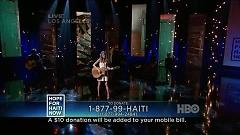 Hope For Haiti Now (HBO Channel) - Taylor Swift