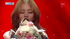 Rose (130428 Inkigayo) - Lee Hi