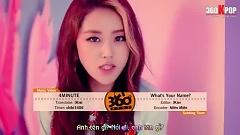 Video What's Your Name (Vietsub) - 4MINUTE