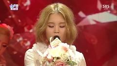 Rose (130714 Inkigayo Half Year Special) - Lee Hi