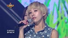 Video Darilng Of Hearts (130710 Music Show Champion) - Sunny Hill