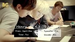 1 4 3 I Love You (Vietsub) - Henry , AMBER