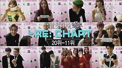 Video Opening + Re Chart + Greeting + Number 9 (131107 M! Countdown) - T-ARA