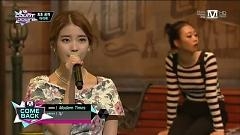 Modern Times + Between The Lips + The Red Shoe (131010 M! Countdown) - IU