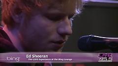 Video Give Me Love (Live In The Bing Lounge) - Ed Sheeran