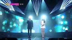 BREATH (140301 Music Core) - Taeyeon  ft.  Jonghyun (SHINee)