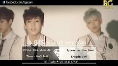 Video Just One Day (Vietsub) - Bangtan Boys