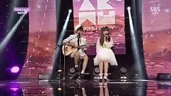 Give Love (140601 Inkigayo) - Akdong Musician