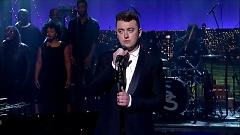 Video Stay With Me (Live At David Letterman) - Sam Smith