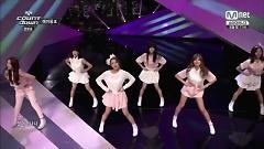 Video NoNoNo & Mr.Chu (140710 M! Countdown) - Apink