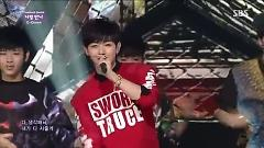 Let's Love (140713 Inkigayo) - C-Clown