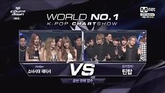 Holler No.1 & Encore (140925 M! Countdown) - Girls' Generation-TTS