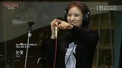 Snow Flower (141023 MBC Radio) - Gummy