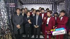 Comeback Interview (141024 Music Bank) - Super Junior  ft.  BEAST