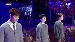 Over The Destiny (141102 Inkigayo) - 2AM